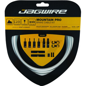 Jagwire Mountain Pro Brake Cable Kit, white